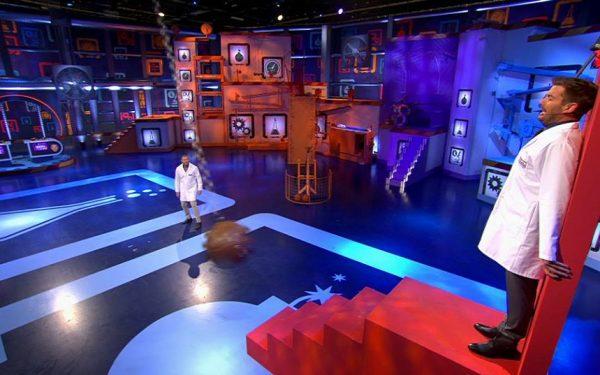 RTL4 Professor Nicolai en Dr Beckand