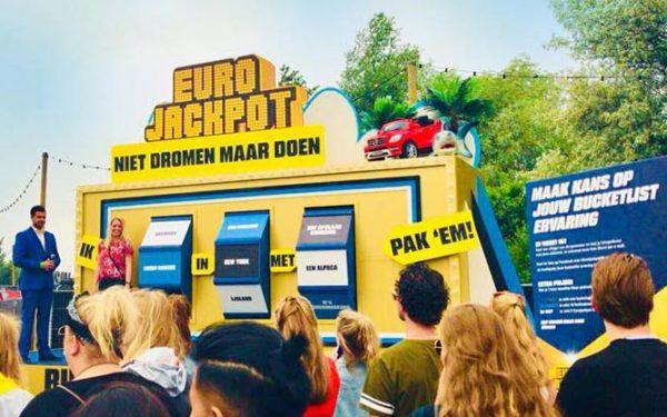 Euro Jackpot Bucket List Generator